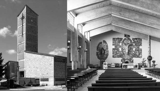 Igrexa de Santa Mariña | José Luis Fernández del Amo | Chantada 1963