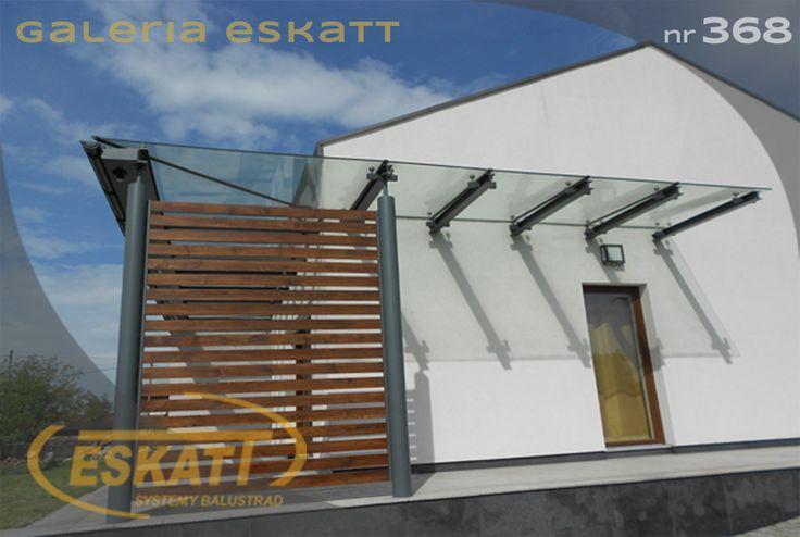 Safety glass roof #balustrade #eskatt #construction #roof