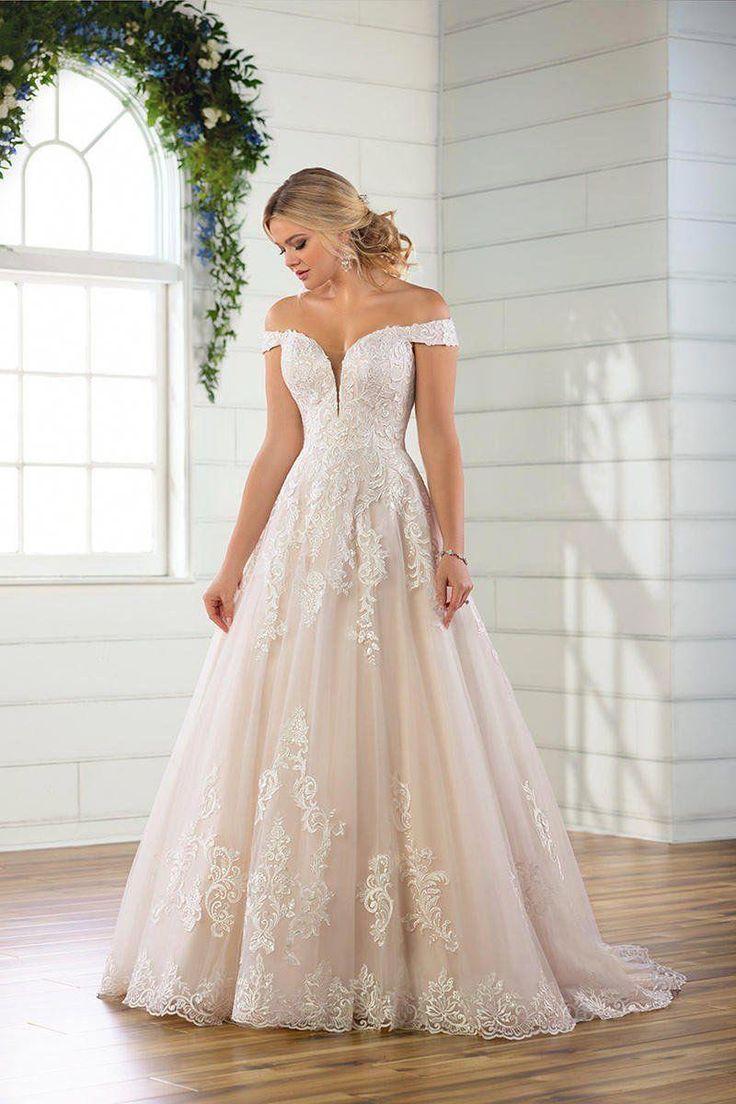 Essense Bridal Collection D2815 Amanda Linas Woodbridge Ontario Say Ye Essense Of Australia Wedding Dresses Simple Flower Girl Dresses Dream Wedding Dress Lace [ 1104 x 736 Pixel ]