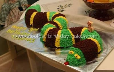 Lizard Birthday Cake Ideas