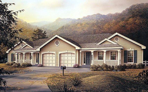 32 best images about duplex plans on pinterest for Ranch duplex plans