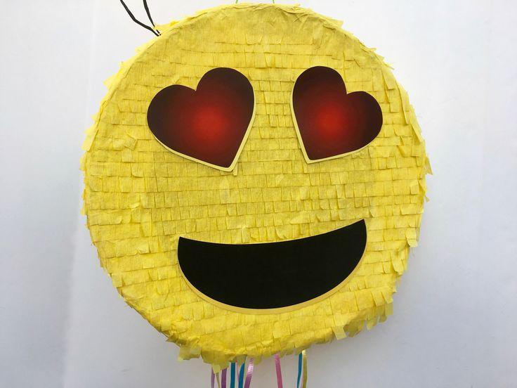 Fiesta de piñata EMOJI, emoticonos partido, partido de emoji de whatssap, tire de cadena Piñata de TRUSTITI en Etsy https://www.etsy.com/es/listing/509383085/fiesta-de-pinata-emoji-emoticonos