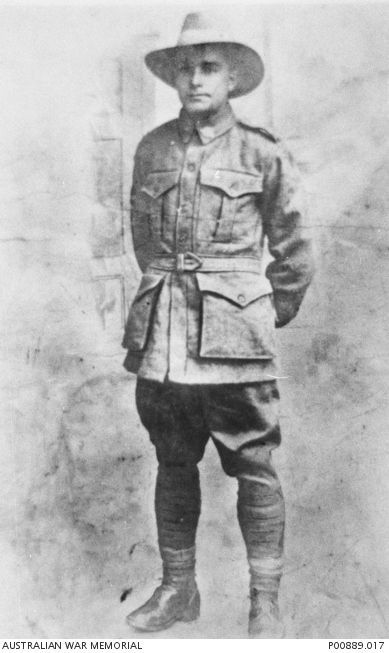 Pvt Richard Martin... Said he was Maori descent to allow himself to join the 1st A.I.F., as Aboriginal people were not permitted to join up in the early days of WW1