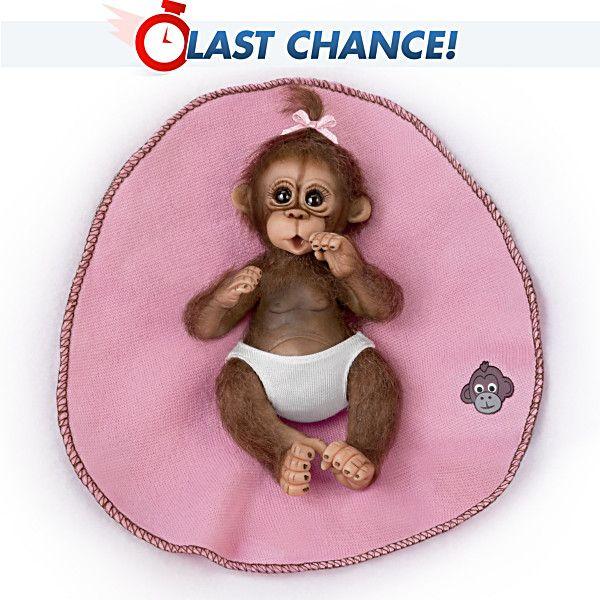 """Bundle of Joy 4/"""" Ashton Drake Doll BUNDLE BABIES BY SHERRY RAWN"""