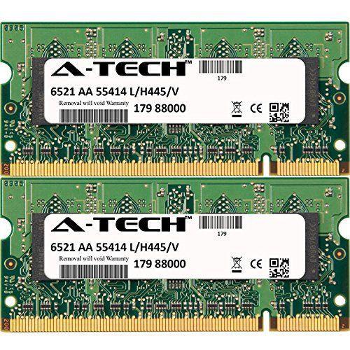 4GB KIT 2x 2GB Dell Latitude 531 630 830 ATG ATG D620 ATG D630 D520 D530 D531 D620 D630 D630 XFR D630C D631 D820 D830 XFR XFR D630 SO-DIMM DDR2 NON-ECC PC2-5300 667MHz RAM Memory Genuine A-Tech Brand