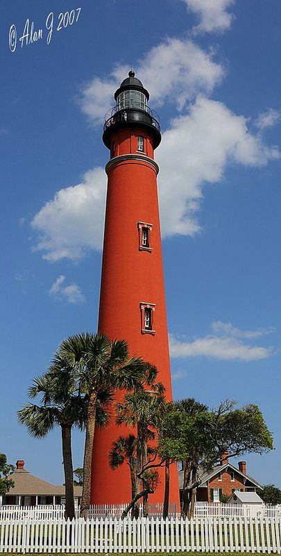 Ponce Inlet Lighthouse, central Florida
