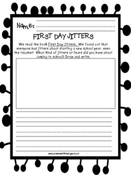1000+ images about First Day Jitters on Pinterest | First day of ...