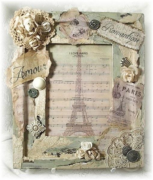 Altered Frame-love the Parisian theme