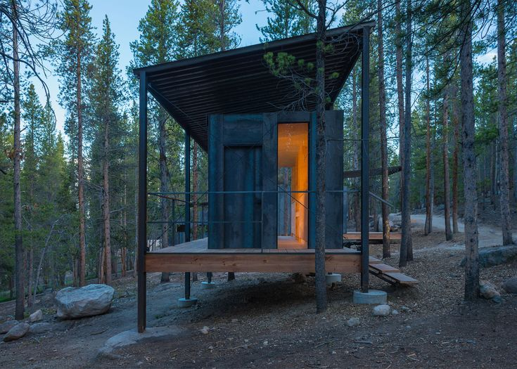 Architecture Students From At The University Of Colorado Denver Have Built A Series Rustic Dwellings