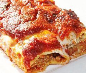 cannelloni napoletani al forno
