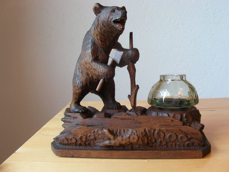 Vintage swiss wood carving from brienz all things