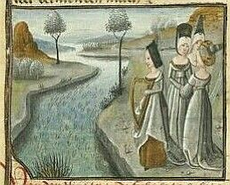 34 best sappho images by breath bone on pinterest book draw and miniature of sappho and her companions from a dutch translation of christine de pizans livre fandeluxe Choice Image