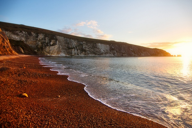 Alum Bay 140213 by Visit Isle of Wight, via Flickr