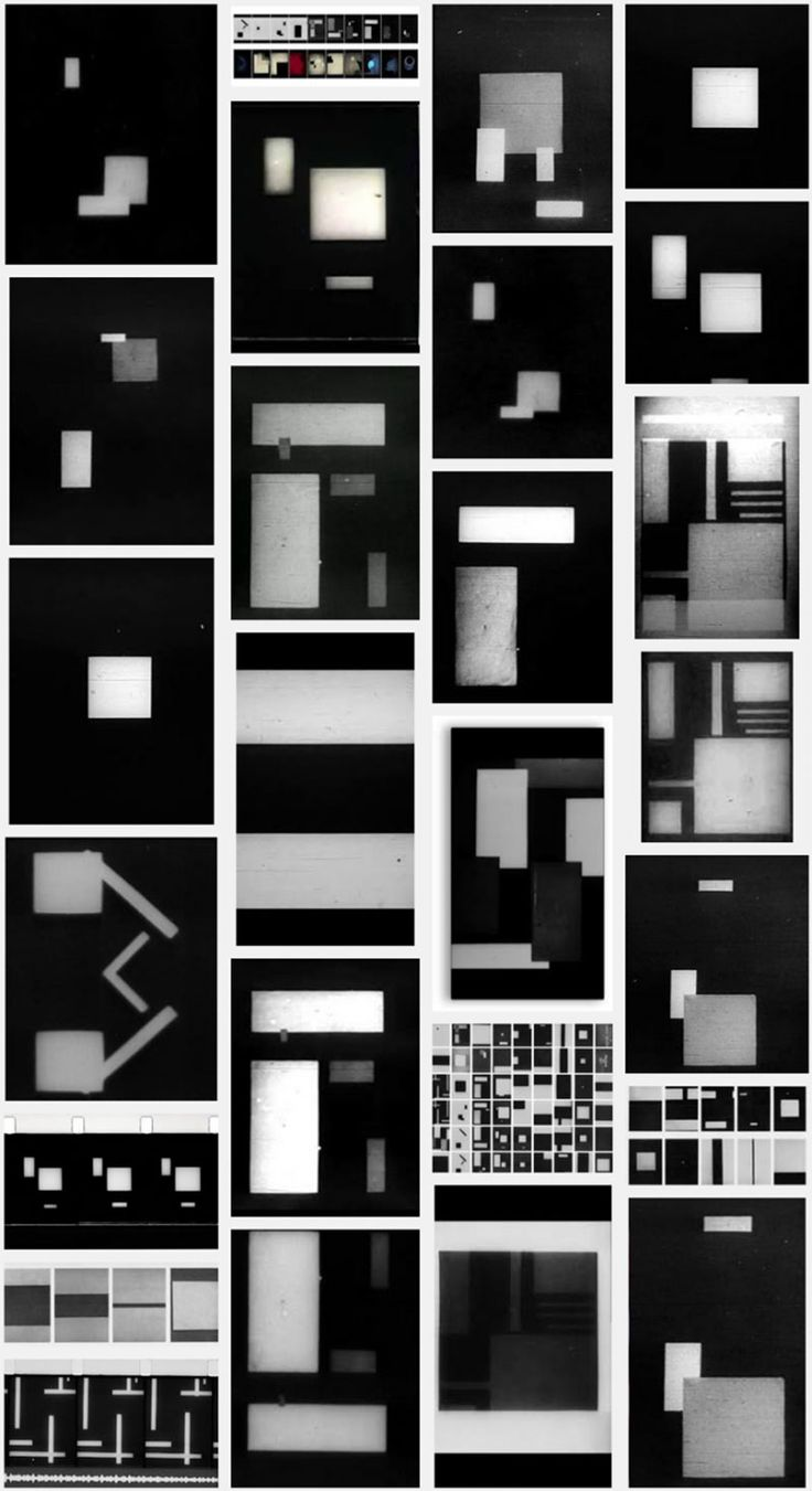 Rhythmus 21, an Early Abstract Film by Hans Richter (1921)