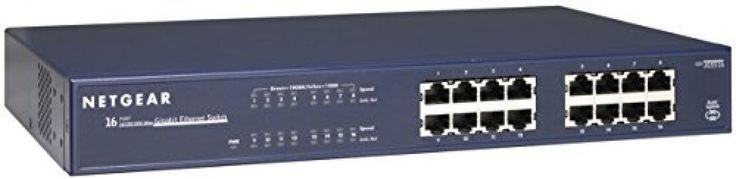 NETGEAR JGS516 ProSafe 16-Port Gigabit Ethernet Switch (JGS516NA) #NetGear