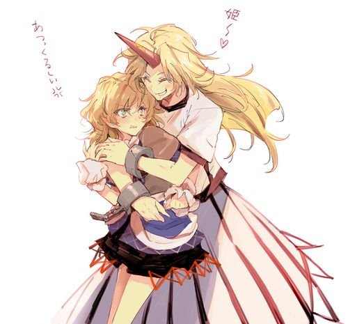 Yuugi and Parsee. Aww, such an adorable pairing.