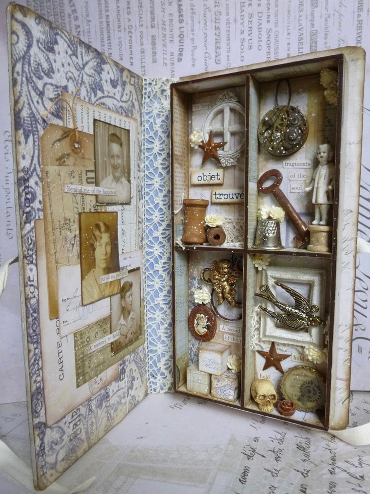 Eileen Hull journal Cabinet of Curiosities with Idea-ology and Prima