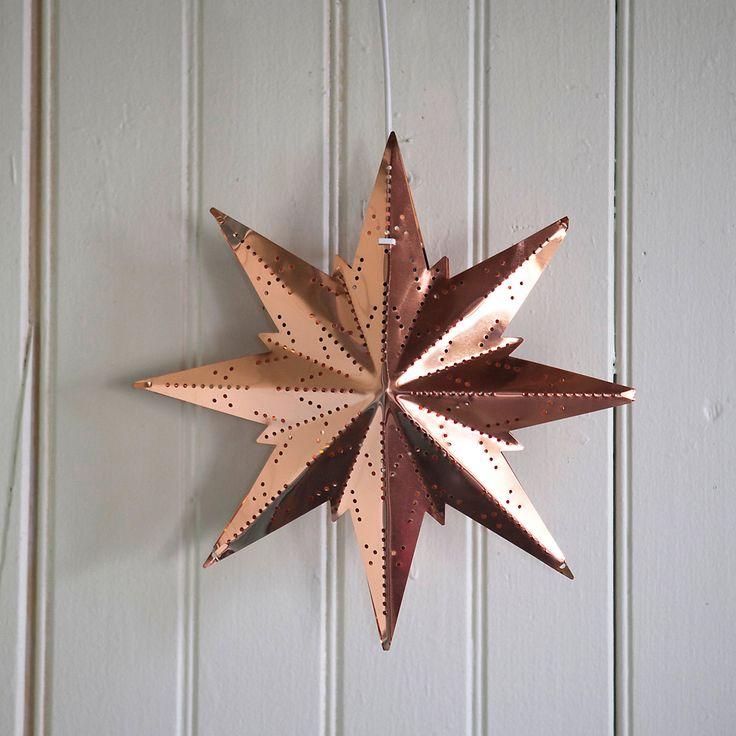 TERRAIN GIFT PICK: The Copper Snowflake Lantern #giftsandgreens #shopterrain