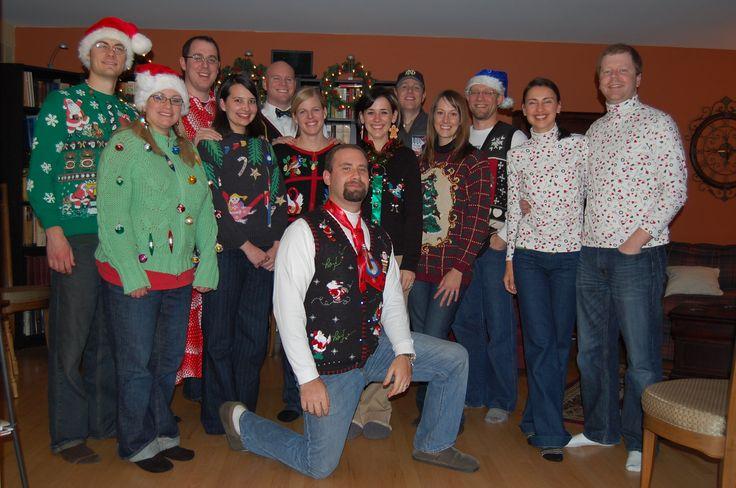 2013 ugly christmas sweater couples | Ugly Christmas Sweater Party Pictures | Ugly Christmas Sweaters