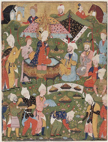Safavid food 1550