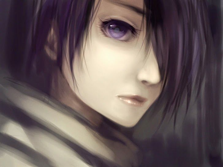Image Result For Short Black Hair And Violet Eyes And Girl Girl