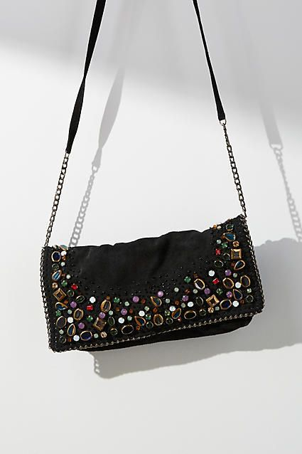 Mary Frances Charmed Foldover Crossbody Bag