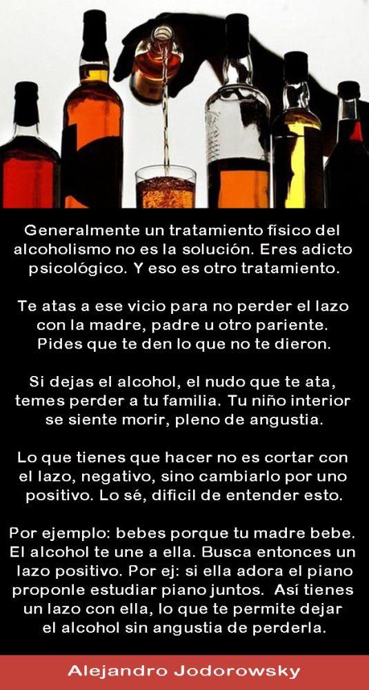 La mirada moderna a los problemas del alcoholismo
