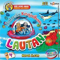 Baca Online Buku Seri Sains Anak Rahasia Keajaiban Lautan untuk anak belajar mengenal rahasia lautan dilengkapi teks Bahasa Inggris dan gambar warna.