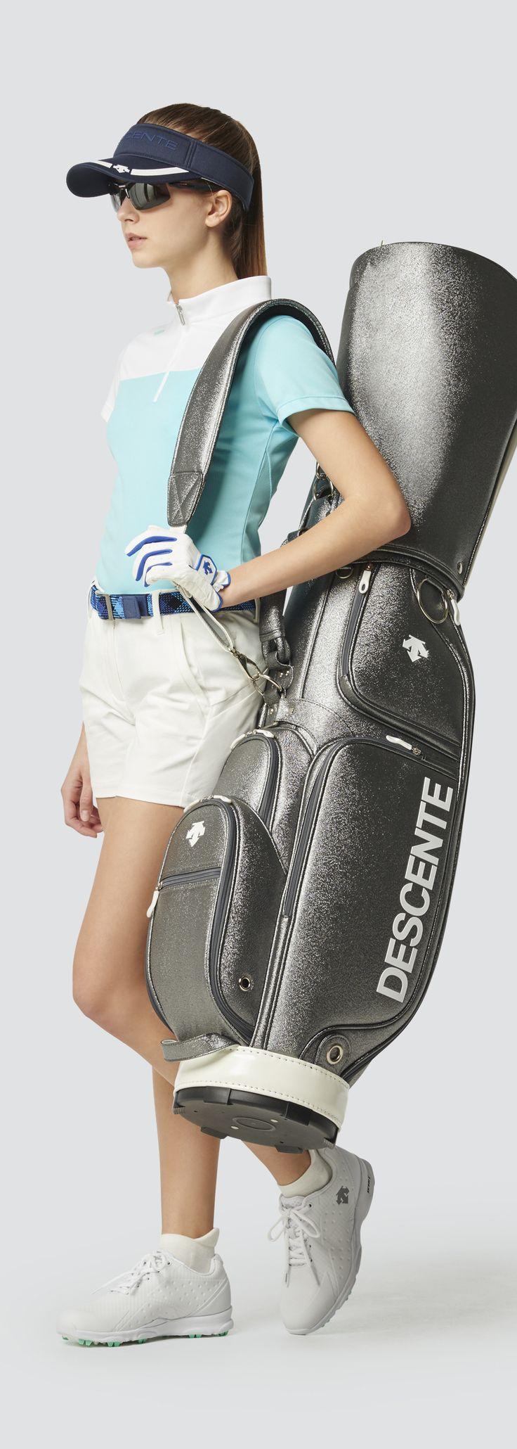 Descente Golf|キャディバッグ|デサントゴルフ|レディース キャディ