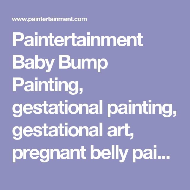 Paintertainment Baby Bump Painting, gestational painting, gestational art, pregnant belly painting in Minneapolis Minnesota