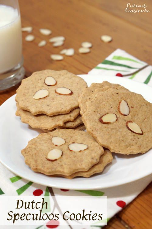 Also known as Dutch Windmill Cookies, our Dutch Speculoos might not be in the shape of windmills, but they still bring the same crisp, spiced cookie flavor of the traditional Christmas recipe. #IntnlCookies | www.curiouscuisiniere.com