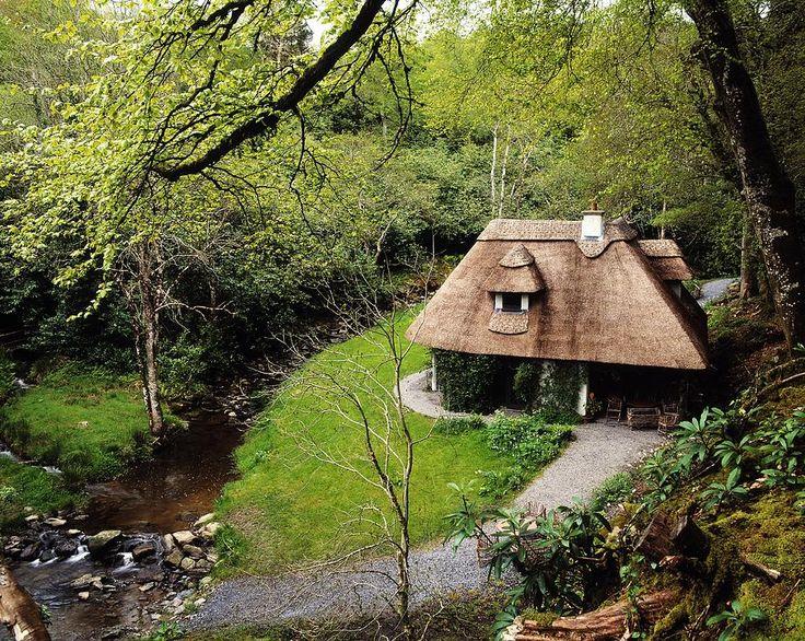 Cottage Ornee Tearoom, Kilfane Glen, Co Photograph by The Irish Image ...