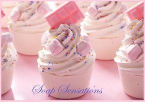 Cupcake Soaps