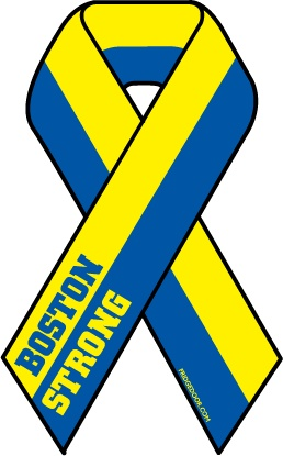 Boston Strong Ribbon Car Magnet Donation