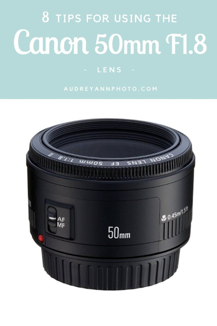 The Canon 50mm F1.8 lens is the universal starter lens, but it needs some careful handling to get the best from it! Here are 8 Tips for Using the Canon 50mm F1.8 Lens that will help you show exactly what this lens can do! Click through to read all the tips and get the most from this budget lens.