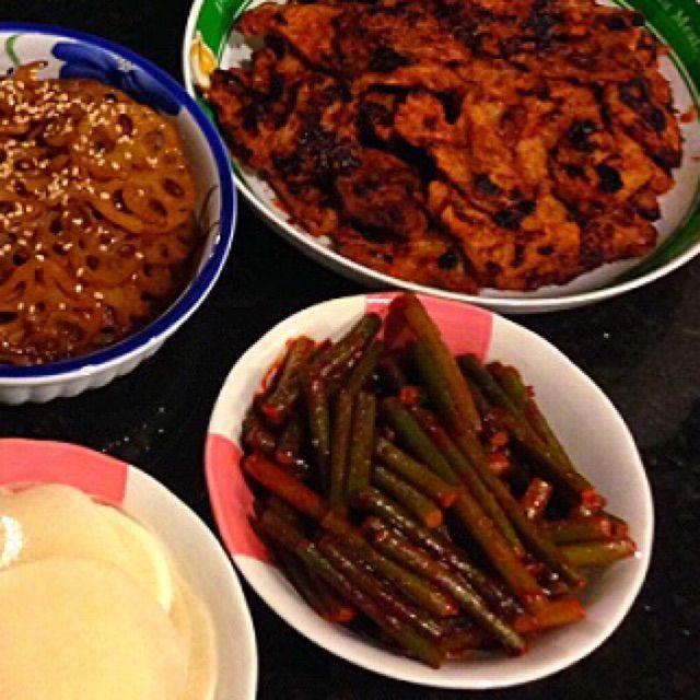 Korean Side Dishes Recipe - coasterkitchen - Dayre
