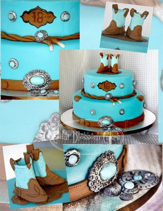 Cowgirl cake - Cake by ozgirl39