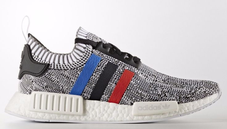 Adidas NMD R1 PK Primeknit size 12. Red Blue White Tri-Color BB2888. Ultra Boost