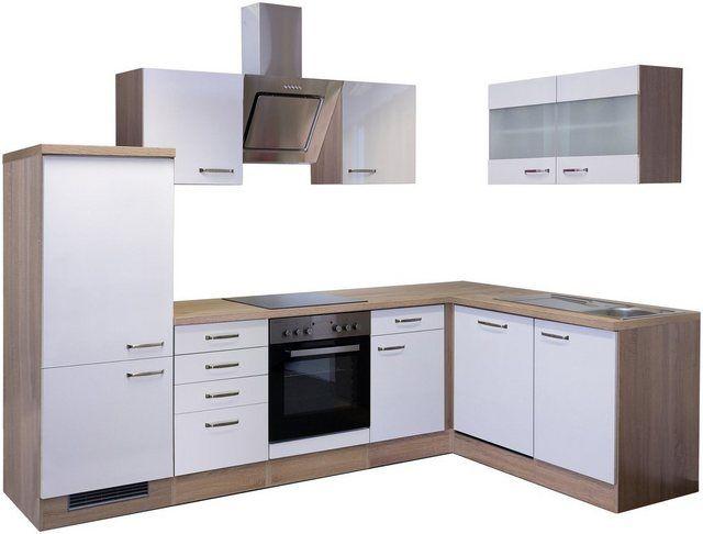 Winkel-Küchenzeile mit E-Geräten »Florenz«, Breite 280 x 160 ...