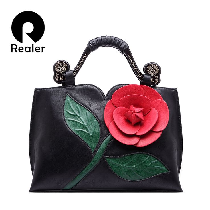 Women Tote Bag With A Flower Bucket Bag High Quality Artificial Leather Handbag Vintage Shoulder Messenger Bags //Price: $59.34 & FREE Shipping //     #womenfashion