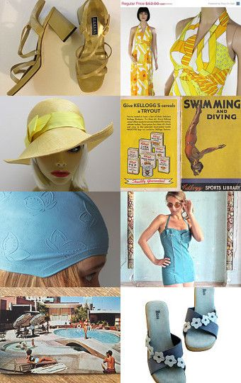 Take A Dip Into Epsteam Summer  by LL Pyles on Etsy--Pinned with TreasuryPin.com