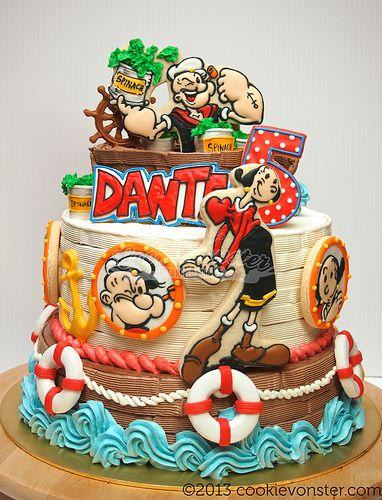Popeye торт