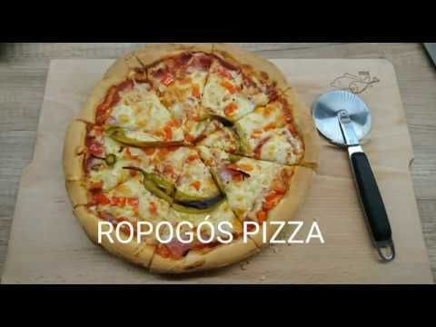 Pizza otthon - YouTube