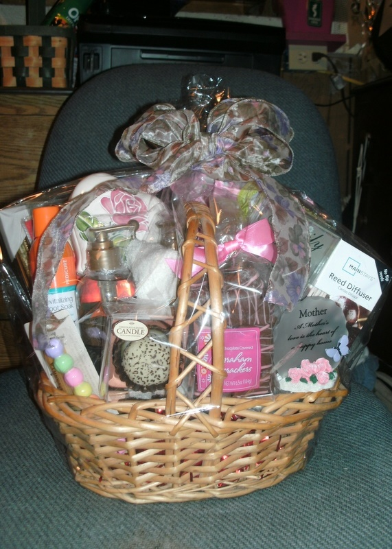 Mother's Day Gift Basket | Great Gift/ Party Ideas ...