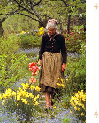 Tasha Tudor Garden Tour | Secret Gardens of Tasha Tudor and Family Tours