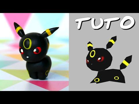 TUTO FIMO | Noctali / Umbreon (de Pokémon Rumble World) - YouTube                                                                                                                                                                                 Plus