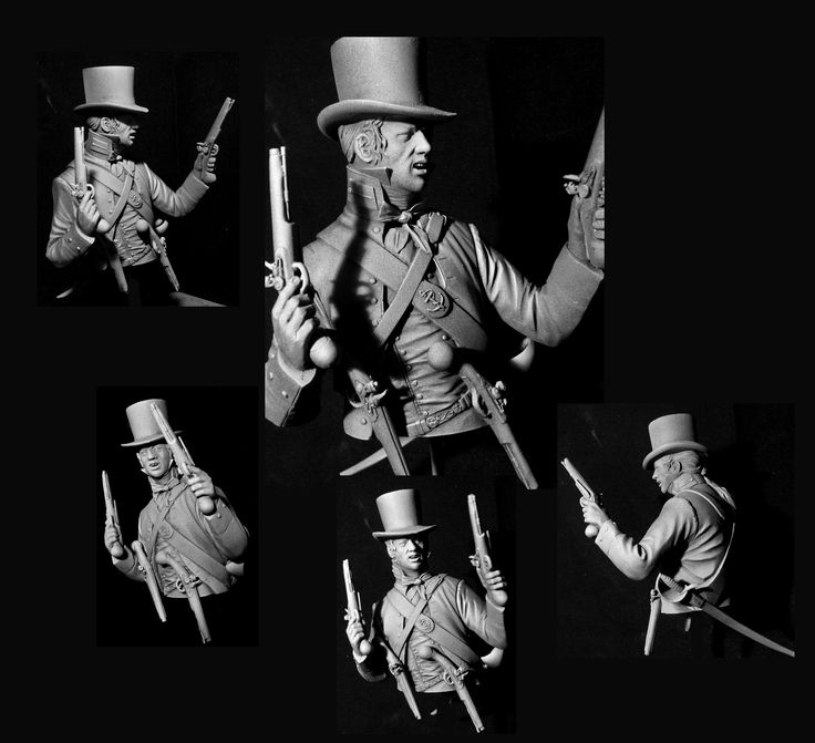 Midshipman Royal Navy Boarding Party 1800. Maurice Corry | planetFigure | Miniatures