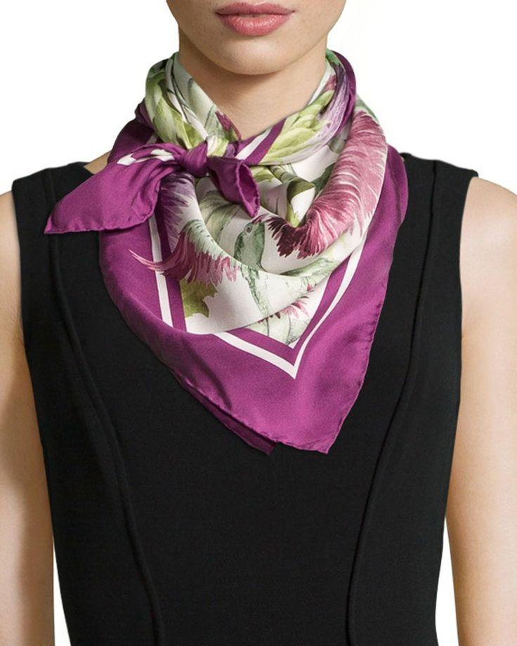 Moncler Bufandas & Fulares lila