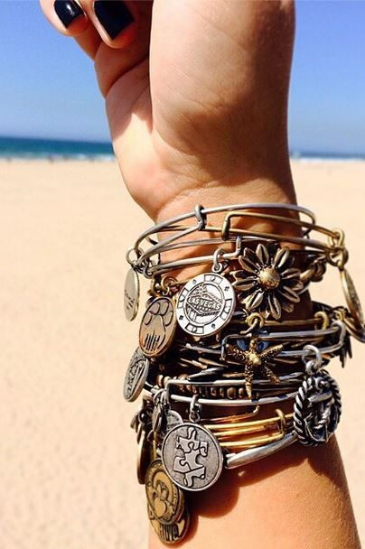 NEED more Alex and Anni bracelets! Found a student discount too, thank heavens.:
