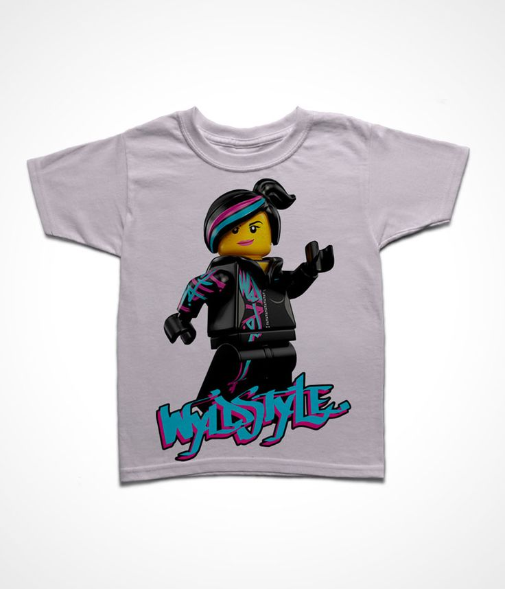 Lucy Wyldstyle Lego Movie T-Shirt for Kids